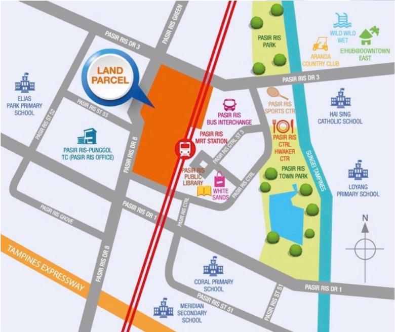 Pasir Ris Central Land Parcel